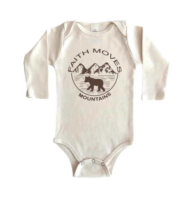 Christian Onesies Organic Cotton