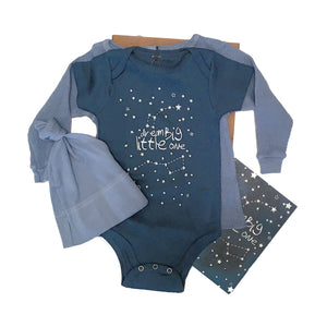 Dream Big Little One-Baby Gift Set Organic Cotton