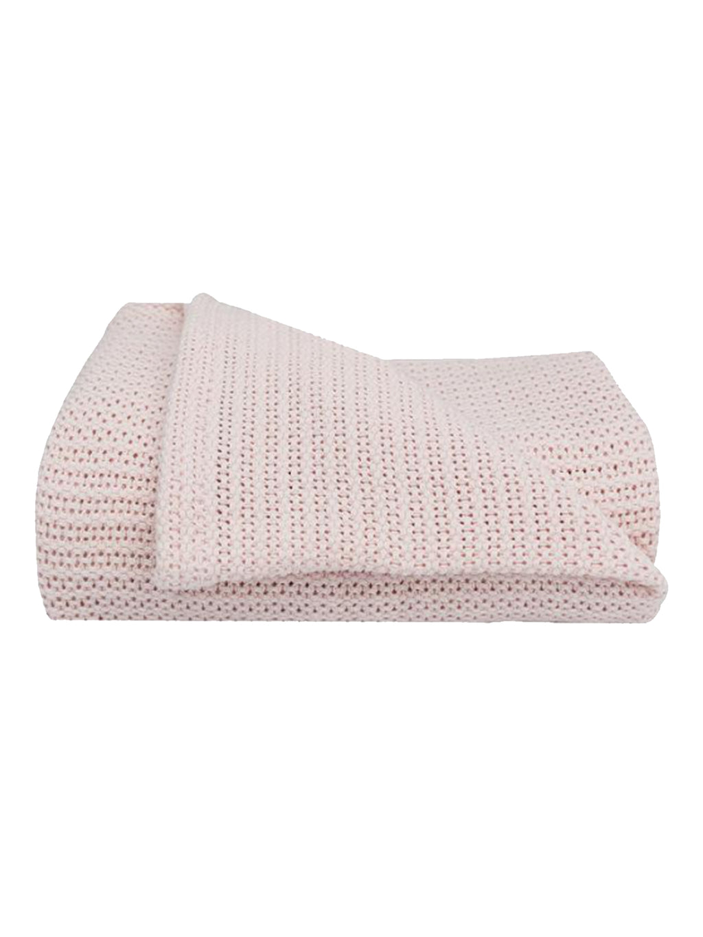 Organic Baby Blanket-Light Rose