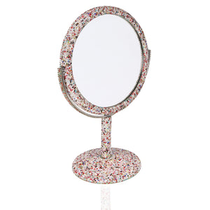Vanity Mirror With Heck Lotta Bling Bling