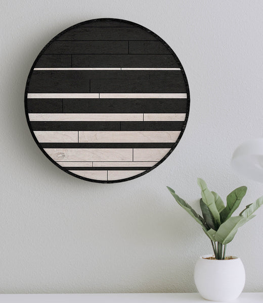 Moonlight- Modern Wooden Wall Art Panel- Rustic Wood Wall Art-Other Furniture- Modern Wood Wall Art