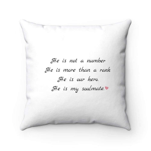 He is not just a number Pillow
