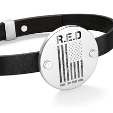 Load image into Gallery viewer, RED Leather Bracelet