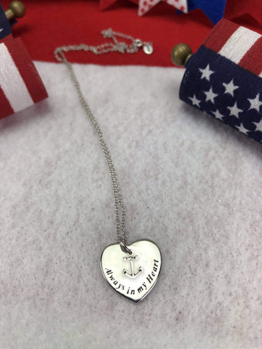 My Sailor is Always in My Heart Necklace
