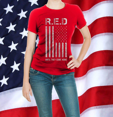 RED - Until They Come Home T-Shirt
