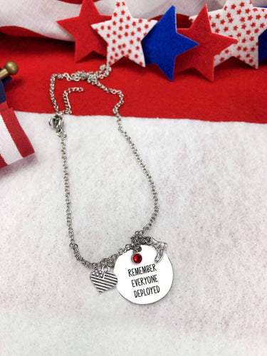 Remember Everyone Deployed Necklace