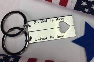 United By Love Keychain