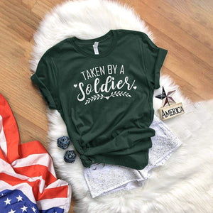 Taken By A Soldier T-Shirt