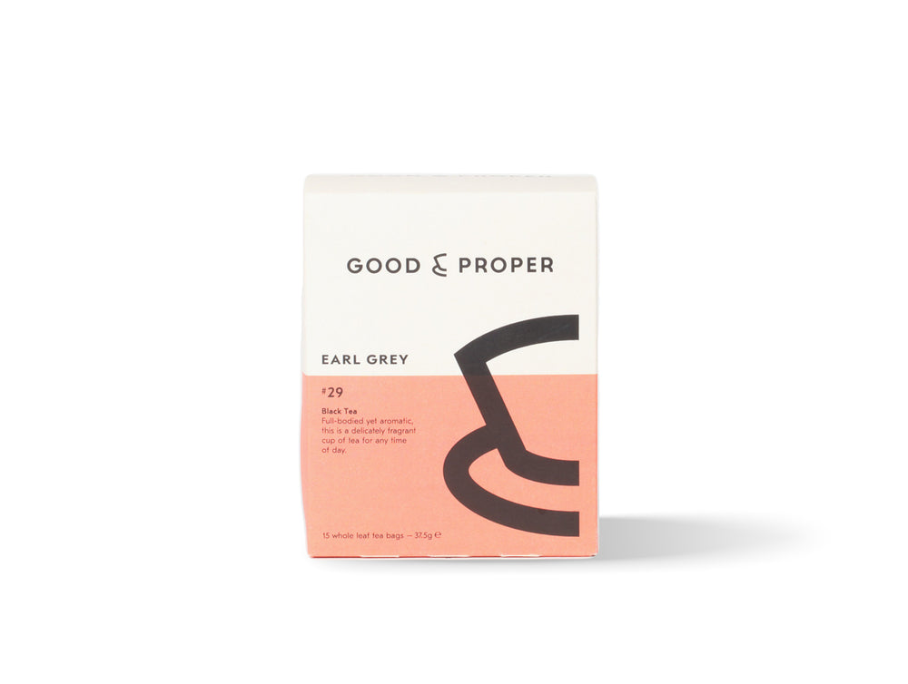 Good and Proper Earl Grey tea bags