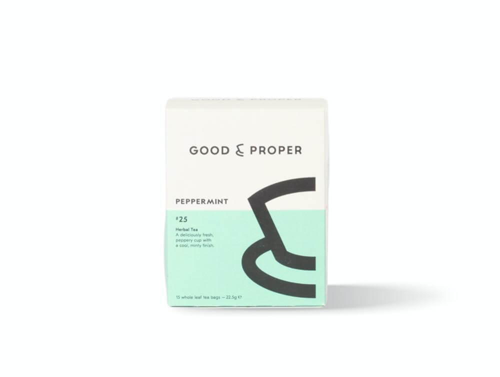 Good and Proper Peppermint Tea Bags
