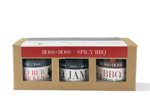 Spicy BBQ Trio pack