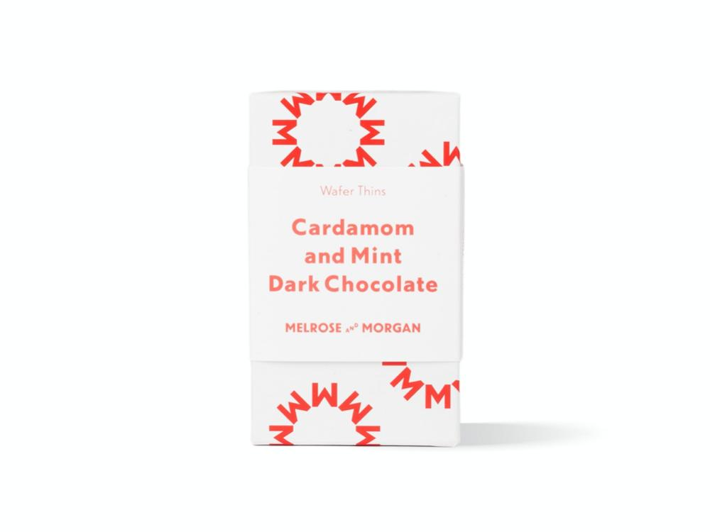 Cardamon and Mint Dark Chocolate