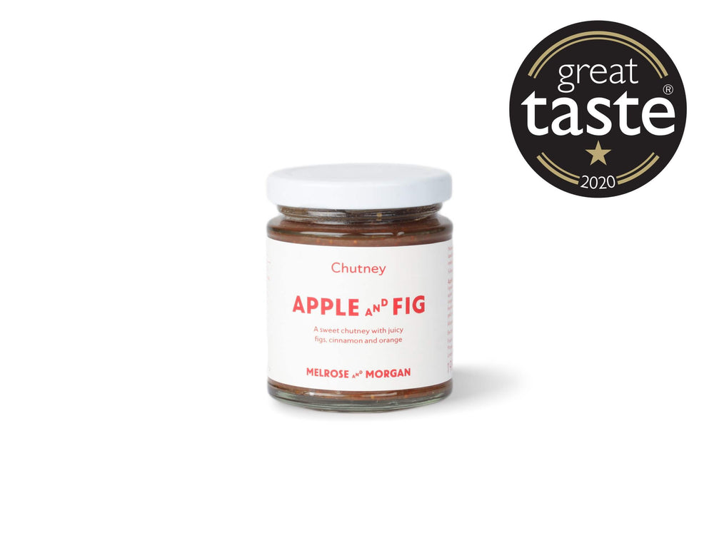 Apple and Fig Chutney