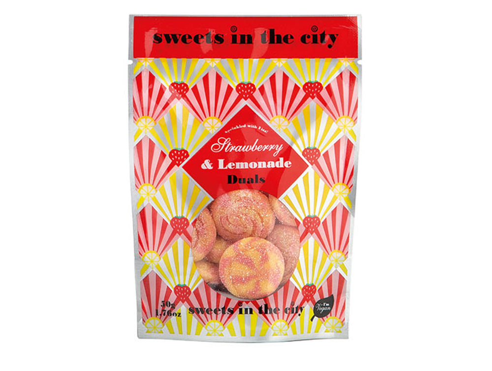Sweets in the City Apple & Watermelon Duals 50g