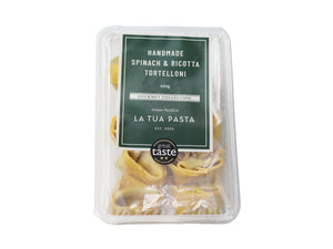 Spinach and Ricotta Tortelloni