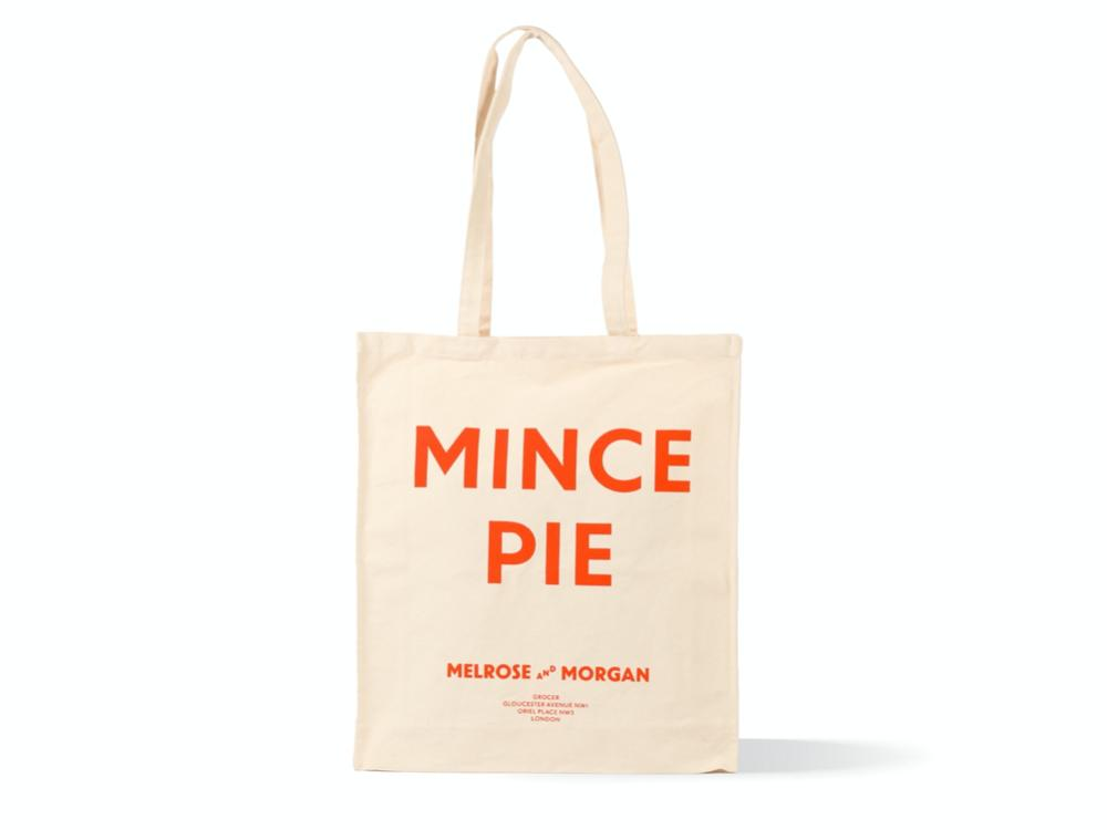 Mince Pie Canvas Bag