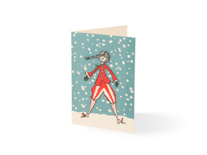 Cambridge Imprint, Snow Day (10 Pack of Cards)