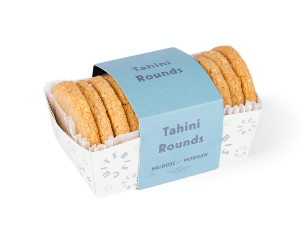 Tahini Round Biscuits Melrose and Morgan