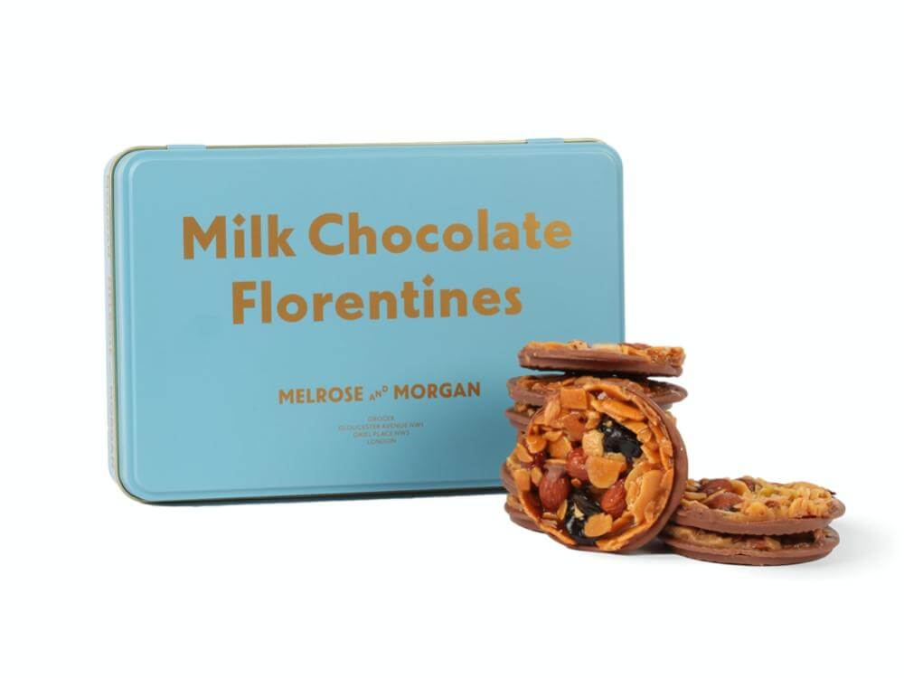 Milk Chocolate Florentine Tin