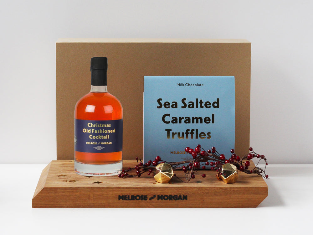 Christmas Old Fashioned and Sea Salt Caramels