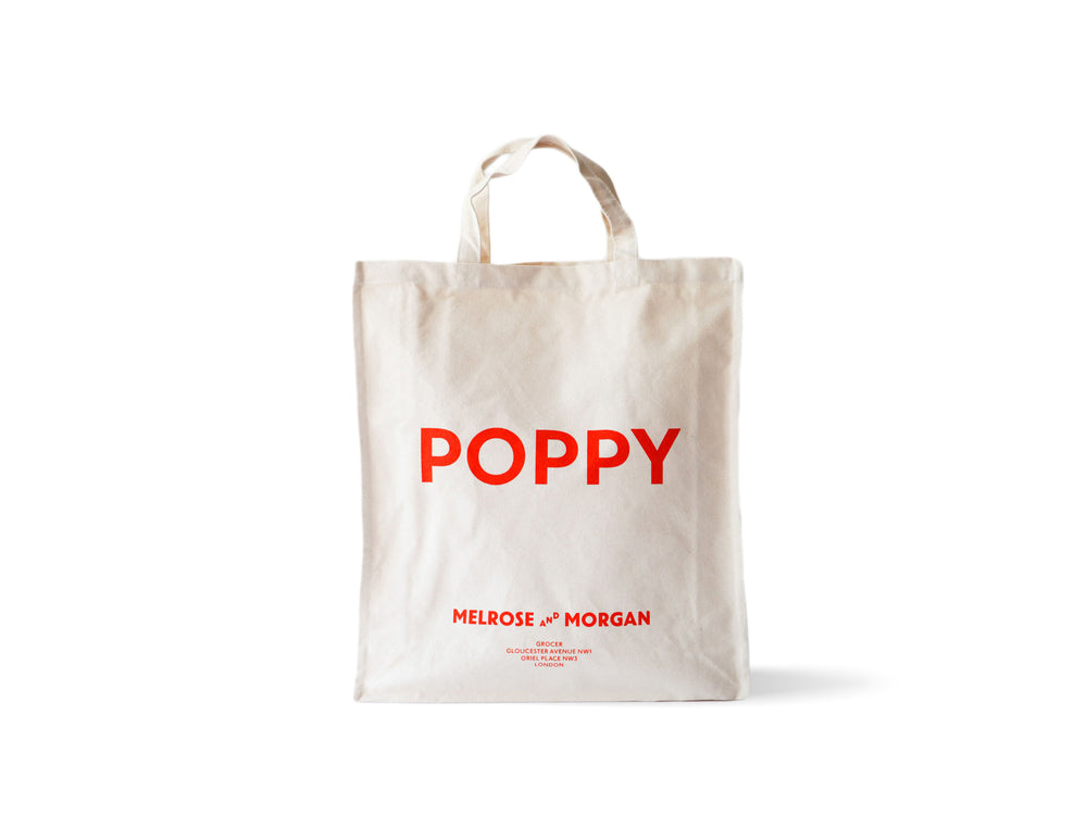 Melrose and Morgan POPPY Canvas Bag