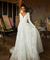 Chic A Line Long Sleeve Lace V Neck Customed Handmade Wedding Dress ER2056 - OrtDress