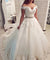 Ball Gown Off The Shoulder Ivory African Beauty Wedding Dress ER2058 - OrtDress
