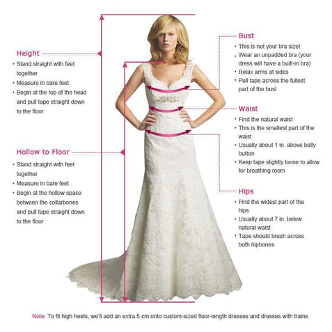 V Neck Lone Prom Dress Ivory Cheap Lace Prom Dress #ER014 - OrtDress