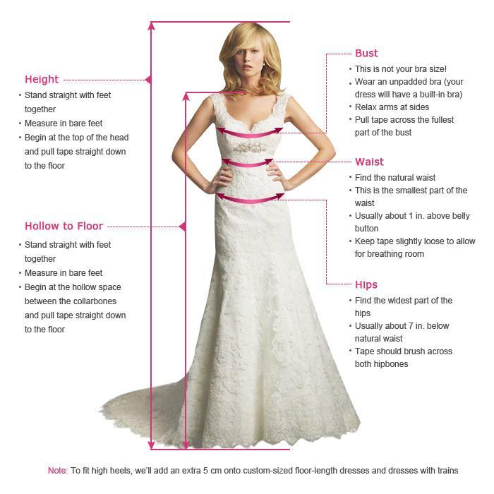 Two Piece Prom Dress Ivory Lace Prom Dress #ER066 - OrtDress