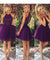 Chic Purple Homecoming dress Cheap Party Homecoming Dress ER078 - OrtDress
