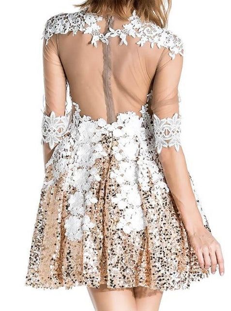 Juniors Lace Homecoming Dress Party Cheap Homecoming Dress ER101 - OrtDress
