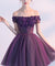Off The Shoulder Homecoming dress Cheap Party Homecoming Dress ER029 - OrtDress