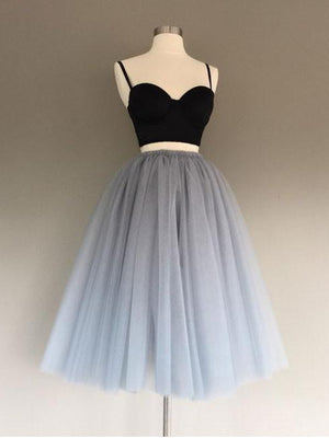 2018 Two Piece Homecoming dress Simple Cheap Homecoming Dress ER042 - OrtDress