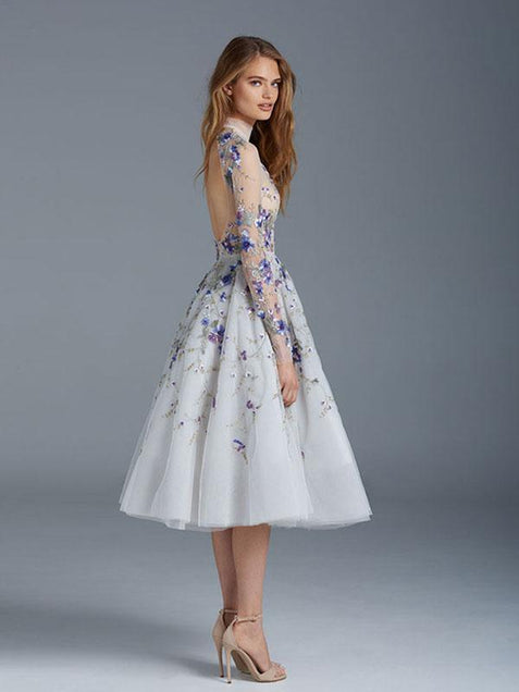 Beautiful Homecoming Dress With Sleeve Cheap Homecoming Dress ER082 - OrtDress