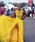 Yellow Chiffon Prom Dress Simple Embroidery Cheap Long Prom Dress #ER127 - OrtDress