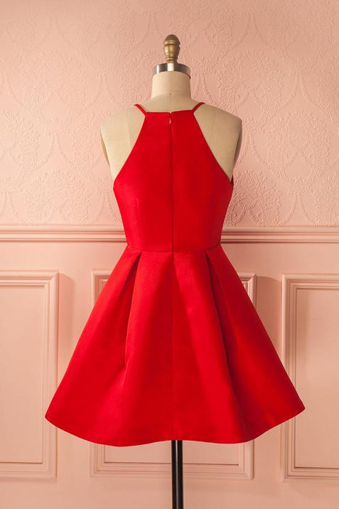 Red Homecoming dress Cheap Party Homecoming Dress ER040 - OrtDress