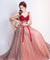 2018 Red Prom Dress Cheap Long Lace Prom Dress #ER023 - OrtDress