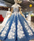 Ball Gown Plus Size Prom Dresses,Princess,Vintage Sequins Off The Shoulder ER1056 - OrtDress