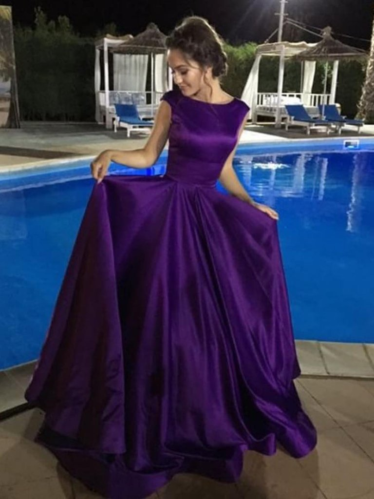 Chic Cheap Prom Dress Modest Beautiful Long Prom Dress #ER191 - OrtDress