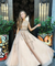 Chic Lace Prom Dress African A Line Tulle Beauty Prom Grown ER2033