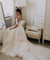 Chic Off The Shoulder Lace Wedding Dress Ivory A Line Beach Wedding Dress ER2065