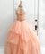 Chic Ball Gown Prom Dress African Pink Vintage Prom Dress #ER222 - OrtDress