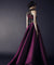 Chic Purple Prom Dress Cheap A Line Satin African Prom Dress #ER510 - OrtDress
