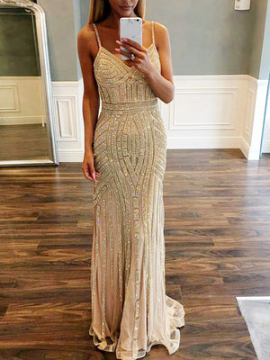 Mermaid Vintage Prom Dress Beautiful Tulle African Prom Dress ER570 - OrtDress