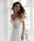 Off The Shoulder Appliqued Bride Dresses A Line Elegant Lace Wedding Bridal Gowns ER2067