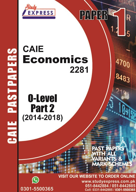 Economics 2281 P1 Past Paper Part 2 (2014-2018)