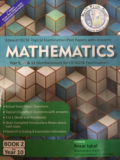 Edexcel IGCSE Mathematics Topical Examination Past Papers With
