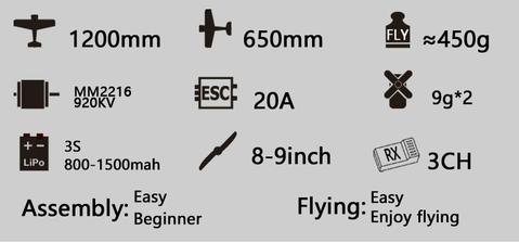 Image of RC Eagle Plane Toy - Frequent Needs