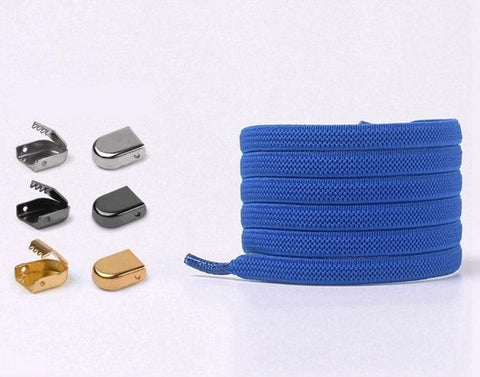 Image of Elastic No Tie Shoelace Lock