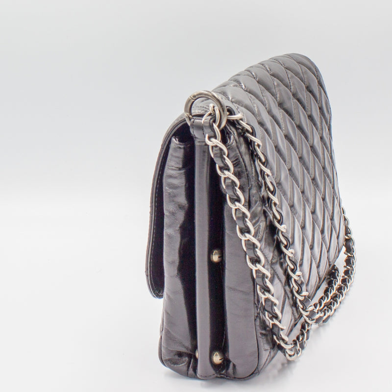 Chanel Shoulder Bag in Shiny Crumpled Leather